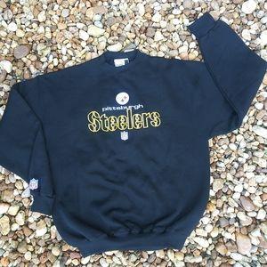 Steelers NFL Puma Sweatshirt Large EUC